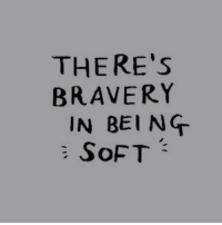 Bravery, Being, and Theres: THERE's  BRAVERY  IN BEING
