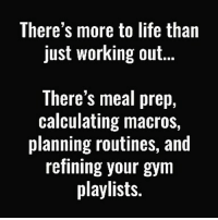 Gym, Halloween, and Life: There's more to life than  just working out..  There's meal prep,  calculating macros,  planning routines, and  refining your gym  playlists. I have no life. 🤔😂 . @DOYOUEVEN 👈🏼 60% OFF HALLOWEEN SALE is now LIVE! 🎃 link in BIO ✔️💀