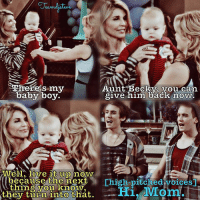 Theres my  Aunt Becky,  vou can.  baby boy.  give him back now.  IATell, live it up now  because the next  Chigh-pitched voices  thing you know  Hi, Mom  they turn into that. This was cute :) . . auntbecky beckydonaldsonkatsopolis lorielaughlin djfuller djtanner donnajotanner tommyfuller nickykatsopolis alexkatsopolis nickyandalexkatsopolis katsopolistwins dylantuomywilhoit blaketuomywilhoit fullerhouse fullhouse fh01x01