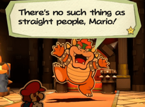 Tumblr, Mario, and Blog: There's no such thing as  straight people, Mario wereralph:  bulph: Happy Pride Month Happy Pride Month