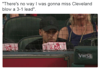 "Blackpeopletwitter, Cleveland, and Blow: ""There's no way I was gonna miss Cleveland  blow a 3-1 lead""  VWSE <p>What goes around comes around. (via /r/BlackPeopleTwitter)</p>"