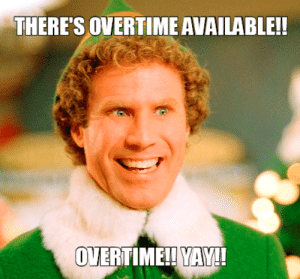 Yay Overtime Meme – Find the newest mandatory overtime meme.