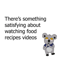 Dank, Recipes, and 🤖: There's something  satisfying about  watching food  recipes videos is it just me?