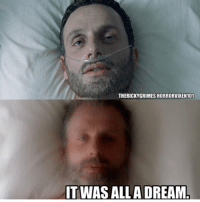 Was it all just a dream? What do you think? - - [check out @horrorvixen101 awesome page!☠️🖤] - - twd horror creepy scary thewalkingdead amc rickgrimes daryldixon negan normanreedus zombie creepyenemies: THERICKYGRIMES HORRORVIXEN101  ITWAS ALLA DREAM Was it all just a dream? What do you think? - - [check out @horrorvixen101 awesome page!☠️🖤] - - twd horror creepy scary thewalkingdead amc rickgrimes daryldixon negan normanreedus zombie creepyenemies