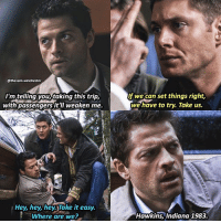 Should I stay or should I go ? 😉 only few will get the screencap ➖➖➖➖➖➖➖➖➖➖➖➖➖➖➖➖➖➖➖ supernaturalfacts supernaturaltumblr supernatural spn spnfacts dean thecw sam supernaturalfamily Castiel spn12 spnfunny jensenackles supernaturalfunny gifs samwinchester jaredpadalecki menofletters alwayskeepfighting deanwinchester spnfamily winchester cas mishacollins crowley supernaturalseason12 youareenough spntswscreencaps: @thesam winchester  Imteinngyouitaking this trip,  with passengers it'll weaken me.  Hey, hey, hey Take it easy.  Where are we?  If we can set things right,  we have to try. Take us.  Hawkins, Indiana 1983. Should I stay or should I go ? 😉 only few will get the screencap ➖➖➖➖➖➖➖➖➖➖➖➖➖➖➖➖➖➖➖ supernaturalfacts supernaturaltumblr supernatural spn spnfacts dean thecw sam supernaturalfamily Castiel spn12 spnfunny jensenackles supernaturalfunny gifs samwinchester jaredpadalecki menofletters alwayskeepfighting deanwinchester spnfamily winchester cas mishacollins crowley supernaturalseason12 youareenough spntswscreencaps