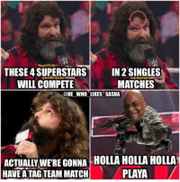 Memes, Undertaker, and Induct: THESE 4 SUPERSTARS  IN 2 SINGLES  WILL COMPETE  MATCHES  @HE WHO LIKES SASHA  WERE GONNA HOLLAHOLLA HOLLA  PLAYA  HAVE ATAG TEAM MATCH WE'RE MAKING THIS MATCH....A TAG TEAM MATCH😂😂!!! Congrats to Teddy Long For getting inducted into the hall of fame this year. He is truly the GOAT of GMs and will forever be my favorite GM of all time. wwe wwememes wwefunny mickfoley danielbryan teddylong stephaniemcmahon undertaker theundertaker randyorton johncena vincemcmahon wwehof wrestler wrestling wrestlingmemes prowrestling professionalwrestling worldwrestlingentertainment wwf wweuniverse wwenetwork wwesuperstars raw wweraw smackdown smackdownlive sdlive mondaynightraw tripleh