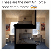 Memes, True, and Yo: These are the new Air Force  boot camp rooms Yo is this true?? 😡😡
