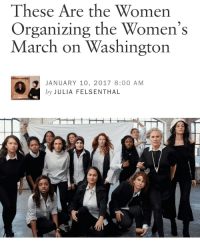 Memes, Birds, and Historical: These Are the Women  Organizing the Women's  March on Washington  JANUARY 10, 2017 8:00 AM  by JULIA FELSENTHAL It's going to be historical!! 👩👊✊👏 PICTURE: Top row (left to right): Ting Ting Cheng, Tabitha St. Bernard, Janaye Ingram, Paola Mendoza, Cassady Fendlay, Linda Sarsour, Bob Bland, Nantasha Williams, Breanne Butler, Ginny Suss, Sarah Sophie Flicker. Bottom row (left to right): Tamika Mallory, Carmen Perez, Vanessa Wruble Photographed by Cass Bird | Sittings Editor: Jorden Bickham VIA: Vogue . WomensMarch feminism patriarchy mysoginy girlpower feminist womensrights reproductiverights plannedparenthood women HereToStay