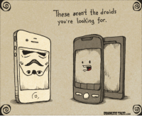 "Jedi, Target, and Http: These arent the droids  you're looking for.  (o  BRAINLESS TALES.com <p><a target=""_blank"" href=""http://www.brainlesstales.com/2011-08-12/droids"">The old Jedi trick</a>.</p>"