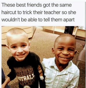 titanic-agreement:: These best friends got the same  haircut to trick their teacher so she  wouldn't be able to tell them apart  שו םאחי titanic-agreement: