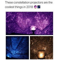 Memes, Help, and Link: These constellation projectors are the  coolest things in 2018 @LAMP will help turn your room into a galaxy with these insane constellation projectors! 🌌 They're over 70% off this week only! Shop link in @lamp's bio! 🔮✨ ad