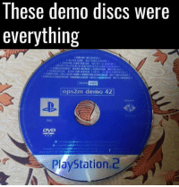 🙌 🙌 🙌: These demo discs were  everything  4448  ops2m demo 42  SONY  PAL  Dye  PlayStation.2 🙌 🙌 🙌