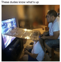 Memes, 🤖, and Whats: These dudes know what's up No screen peeking