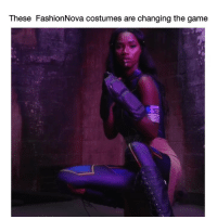Funny, Halloween, and The Game: These FashionNova costumes are changing the game Wyd on Halloween? @FashionNova