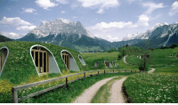Memes, Hobbit, and Home: These hobbit homes can be set up in 3 days by 4 people, and don't require any special skills, equipment, or insulation.