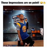 @bdotadot5 impressions are on point! 😂🙌 Follow me for more basketball content! 🏀: These impressions are on point!  UIMMY  IVEL  GA @bdotadot5 impressions are on point! 😂🙌 Follow me for more basketball content! 🏀
