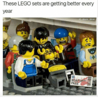 😂🤣🤣: These LEGO sets are getting better every  year  AG: davie dave 😂🤣🤣