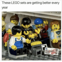 <p>🅱️oarding pass</p>: These LEGO sets are getting better every  year  G: davie dave  BO  PA <p>🅱️oarding pass</p>
