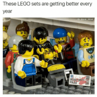 Nooooooo.: These LEGO sets are getting better every  year  IG: davie dave Nooooooo.