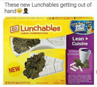 Damn Lunchables 😤😂 https://t.co/nhlHALfSLk: These new Lunchables getting out of  hand  Lunch Roar& Score  ges Lunchables  enGUCC  LUNCH COMBINATIONS  Adventure  Lean +  Cuisine  @Glocxs  @Xannyta  NEW Damn Lunchables 😤😂 https://t.co/nhlHALfSLk