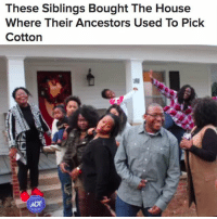 "Family, Food, and Memes: These Siblings Bought The House  Where Their Ancestors Used To Pick  Cotton The Giles family spent the holidays together after purchasing the home they played in while working as sharecroppers. They also bought three acres of land that generations of their ancestors picked cotton on. ""30 people trying to use country-wifi was a bit of struggle; however, we had fellowship, food, 👶🏽's and LeBron,"" Decker Ngongang tweeted. (📷: Decker Ngongang) Repost @buzzfeednews"