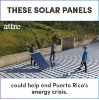 Energy, Memes, and Help: THESE SOLAR PANELS  attn:  RE PUERT  could help end Puerto Rico's  energy crisis These solar panels could help end Puerto Rico's energy crisis.
