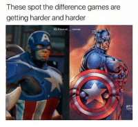captainamericacivilwar captainamerica civilwar blackpanther blackwidow falcon spiderman spidermanhomecoming vision antman wasp wintersoldier scarletwitch quicksilver hawkeye hulk thor thorragnarok gotg guardiansofthegalaxy doctorstrange avengers avengersinfinitywar marvelmovies makespidermangreatagain spidermanps4: These spot the difference games are  getting harder and harder  IG: @marvel memes captainamericacivilwar captainamerica civilwar blackpanther blackwidow falcon spiderman spidermanhomecoming vision antman wasp wintersoldier scarletwitch quicksilver hawkeye hulk thor thorragnarok gotg guardiansofthegalaxy doctorstrange avengers avengersinfinitywar marvelmovies makespidermangreatagain spidermanps4