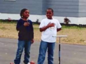 These two boys stopped to recite the Pledge of Allegiance in front of a North Carolina firehouse while an American flag was being raised — and their small act of patriotism has gone viral. 🇺🇸  DV6: These two boys stopped to recite the Pledge of Allegiance in front of a North Carolina firehouse while an American flag was being raised — and their small act of patriotism has gone viral. 🇺🇸  DV6