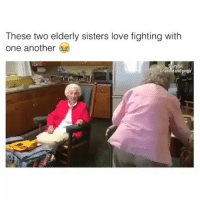 Latinos, Memes, and Mexican: These two elderly sisters love fighting with  one another  Gramma andginga Tag Sister 😩😩😂😂 🔥 Follow Us 👉 @latinoswithattitude 🔥 latinosbelike latinasbelike latinoproblems mexicansbelike mexican mexicanproblems hispanicsbelike hispanic hispanicproblems latina latinas latino latinos hispanicsbelike