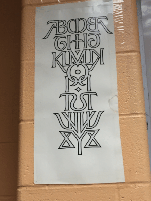 Love, Memes, and My House: theshitpostcalligrapher: theshitpostcalligrapher:  cozy-ghost-loves-love:  thebibliosphere:  danteshighschool:  hollowedskin:  shamaniac-reverie:  The alphabet shown symmetrically. Source unknown.  no this is a sigil to summon a typographer   @thebibliosphere Is this the mark of your house?  It's far too elegant to be my house.  @theshitpostcalligrapher i just need you to look at this.  if i could figure out how to make memes this palindromic i would  y'all! my friend @the-sophisticated-seal tracked down the source of ambigram man, his name is scott kim and he has a website with a ton of neat typography things, go check him out!