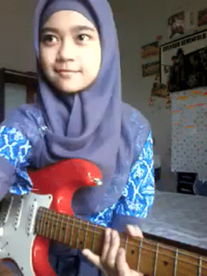 Tumblr, youtube.com, and Blog: thesonofhypnos: susiethemoderator:  GO AWF MAMA!!!  Her name is Meliani Siti Sumartini, she is a 15-year-old Indonesian girl, and her YouTube channel where this video was originally posted is MelSickScreamoAnnie.