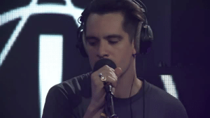 "Tumblr, youtube.com, and Blog: thevoiceofbrendonurie: Happy Pride Month! Recently Panic! at the Disco fed us gays by not changing the pronouns in their cover of Dua Lipa's ""IDGAF."" Also, Nicole Row."