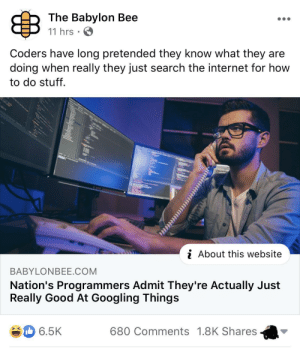 They're on to us: They're on to us