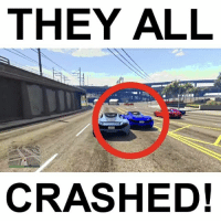 Funny, Memes, and Some More: THEY ALL  CRASHED! Some more GTA funny moments with me (eli), @fullcyanide, and @fullgameclips!