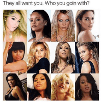 Who you building an empire with? 🤔 @worldstar WSHH: They all want you. Whoyou goin with? Who you building an empire with? 🤔 @worldstar WSHH