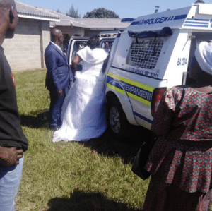 They arrested the bride and groom for having a wedding during lockdown: They arrested the bride and groom for having a wedding during lockdown