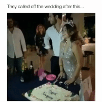 Memes, Savage, and Wedding: They called off the wedding after this.. That was so savage 😂 Credit: @magu.mattiaguidi