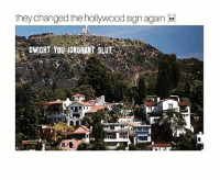 theoffice: they changed the hollywood sign again theoffice