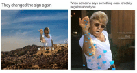 <p>2017 In Review: 15 Greatest Salt Bae Memes</p>: They changed the sign again  When someone says something even remotely  negative about you  adam.the.creator  Masi  HLY 0D <p>2017 In Review: 15 Greatest Salt Bae Memes</p>