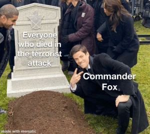They didn't even need to put Fox in that scene though: They didn't even need to put Fox in that scene though