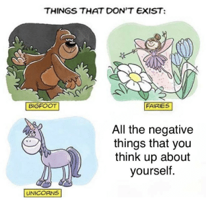 They don't exist: They don't exist