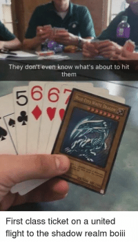 """Memes, Flight, and Http: They don't even know what's about to hit  them  566  First class ticket on a united  flight to the shadow realm boiii <p>Prolevel via /r/memes <a href=""""http://ift.tt/2u4prr1"""">http://ift.tt/2u4prr1</a></p>"""