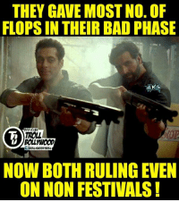 Salman Khan gave 100cr on non holiday .(Ready) He also Gave Non Fest. 100 cr. (JAI HO)  #Jericholic: THEY GAVE MOST NO. OF  FLOPSIN THEIR BAD PHASE  AKS  OFFICIAL  TROLL  NOW BOTH RULING EVEN  ON NON FESTIVALS Salman Khan gave 100cr on non holiday .(Ready) He also Gave Non Fest. 100 cr. (JAI HO)  #Jericholic