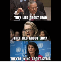 Dank, Syria, and Superior: THEY LIED ABOUT IRAO  THEY LIED ABOUT LIBYA  THEYRE LYING ABOUT SYRIA A foreign policy of peace & non-intervention in the affairs of other nations is far superior to this...