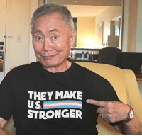 Memes, join.me, and Justice: THEY MAKE  STRONGER They show their strength for us. Now let's show our strength for them. Join me and take a stand for liber-tee and justice for ALL by supporting GLAAD with this t-shirt. Get yours through my bio link or omaze.com-stronger