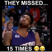 Dunk, Memes, and The Worst: THEY MISSED  15 TIMES  O Was the 2017 Dunk Contest the worst one ever?😂💀 - Follow me @thrillingsports for more! via @evolvevfx