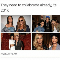 Memes, Music, and 🤖: They need to collaborate already, its  2017  Z/2/17,8:16 AM Their official Collab would leave the music industry shook.