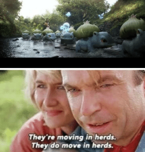 Life, uh, finds a way via /r/funny https://ift.tt/2TbgFBG: They 're moving in herds.  They do move in herds. Life, uh, finds a way via /r/funny https://ift.tt/2TbgFBG