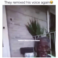 Friends, Funny, and Lmao: They remixed his voice again  Melhane Ellulle Propane Butane YOU PLAY TOO MUCH😂 @funnyblack.s ➡️ TAG 5 FRIENDS ➡️ TURN ON POST NOTIFICATIONS lmao nochill funny comedy dead