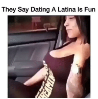 😂😂🔫 funniest15 viralcypher funniest15seconds Email: funniest15seconds@yahoo.com Website : www.viralcypher.com: They Say Dating A Latina ls Fun 😂😂🔫 funniest15 viralcypher funniest15seconds Email: funniest15seconds@yahoo.com Website : www.viralcypher.com